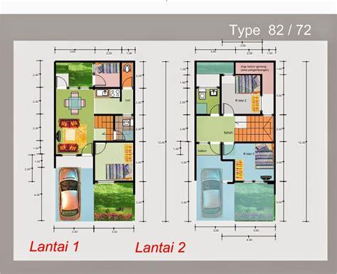 desain rumah minimalis ukuran 6x15 desain rumah minimalis 2 lantai type 42 foto desain