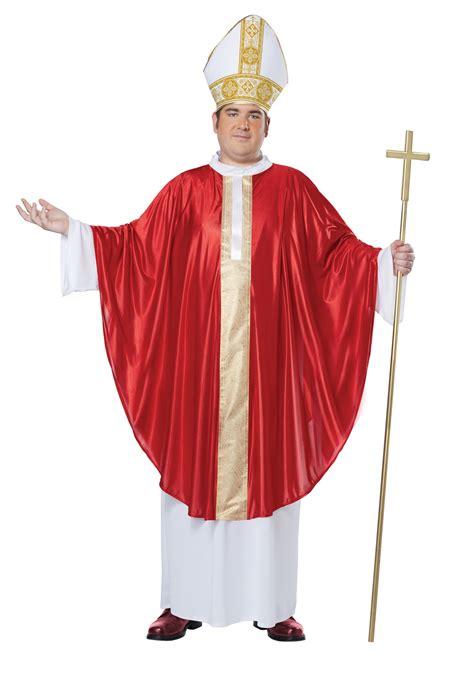 pope costume plus size pope costume