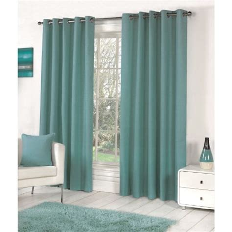 teal eyelet lined curtains buy fusion sorbonne eyelet lined curtains teal 90x90
