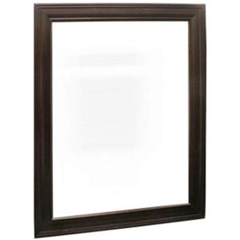 Home Depot Vanity Mirror by Home Decorators Collection Grafton 24 In X 31 In Framed