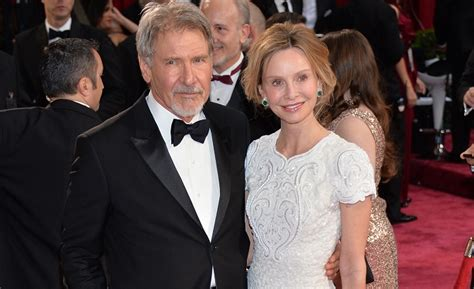 Harrison Ford And Calista Flockhart Are Engaged by Calista Flockhart And Harrison Ford Marriage Strong After