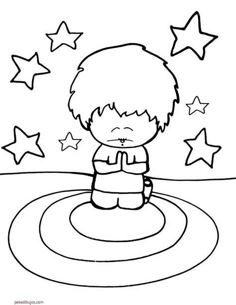 imagenes de ninos rezando para colorear dibujos de rezar para colorear