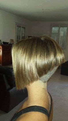 clipper cut backs stacked bobs photos angled inverted bob with clipper cut nape inverted bob s
