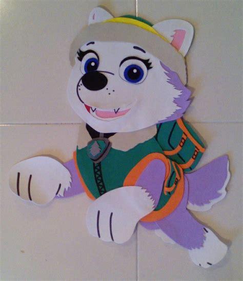 figuras geometricas en foami figuras de fomi personajes paw patrol foami fiesta chase
