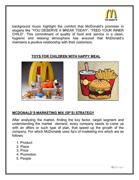 layout strategy for mcdonalds mcdonald history and background pdf background ideas