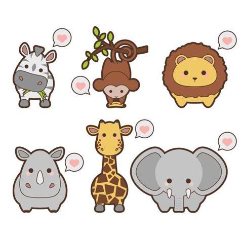 Imagenes De Animalitos Kawaii | dibujos de animales kawaii imagui