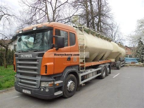 scania r420 2007 food carrier truck photo and specs
