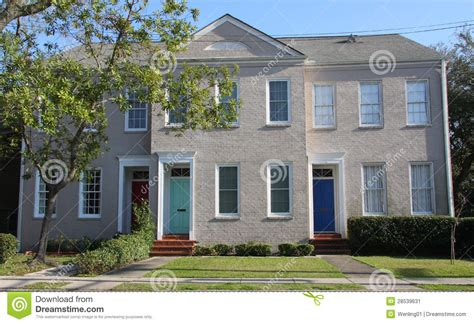 small apartment building stock image image 28539631