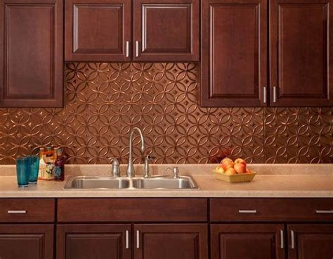 copper kitchen backsplash awesome copper backsplash highlights walsall home and garden