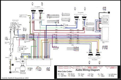 in a car wire diagram what is l how to read car circuit