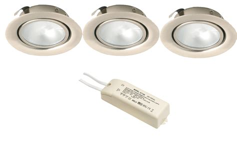 Recessed Under Cabinet Shelf Downlight G4 Kit Element Cabinet Recessed Lighting