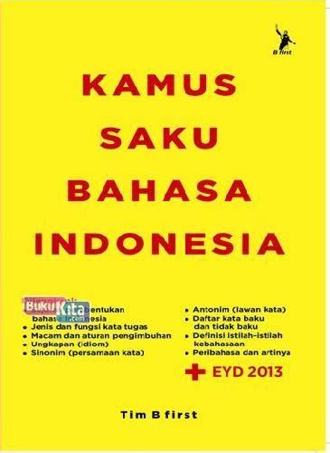 Buku Terbaru Kamus Besar Bahasa Indonesia bukukita kamus saku bahasa indonesia edisi baru