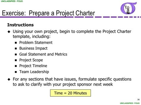 Project Charter Sections by Ng Bb 06 Project Charter