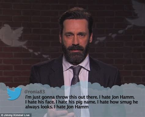 jimmy kimmel live hollywood stars read mean tweets about