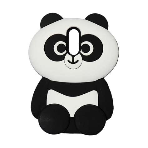 jual qcf softcase  animasi panda silicon casing