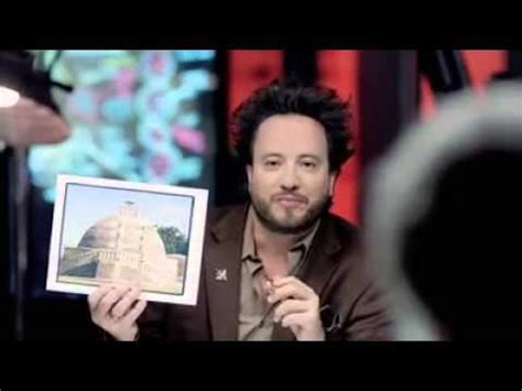 Chanel Allins ancient aliens history channel promo