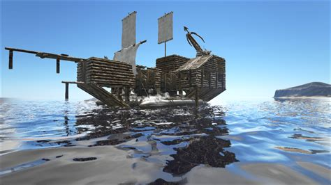 ark cannon boat do anyone know how to build bigger rafts ark