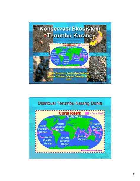 filsafat ilmu geografi katalog geografi download pdf konservasi ekosistem terumbu karang katalog