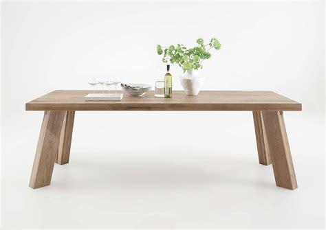 tavolo soggiorno moderno tavolo da pranzo monviso mobile legno massiccio design