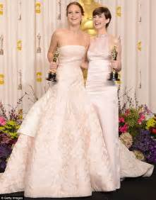 who won best actress oscar for whatever happened to baby jane anne hathaway walked away from jennifer lawrence s silver