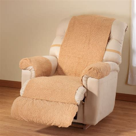 Fleece Recliner Cover by Sherpa Recliner Cover Soft Cozy Lightweight Fleece