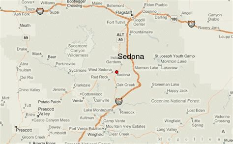 sedona az map sedona location guide