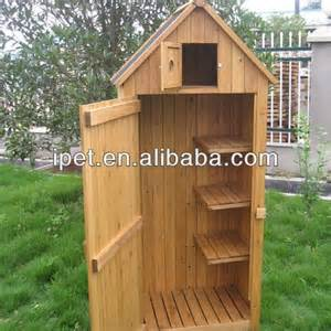 classic garden wooden storage cabinet outdoor tools shed