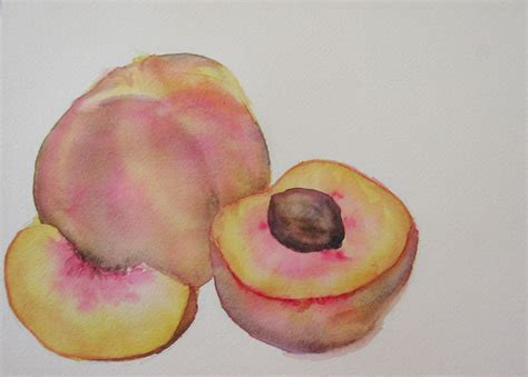 how to water color painting fruit in watercolor step by step