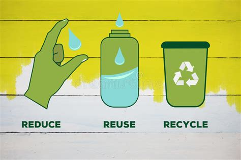 reduce reuse recycle shareonwall com composite image of reduce reuse recycle stock illustration