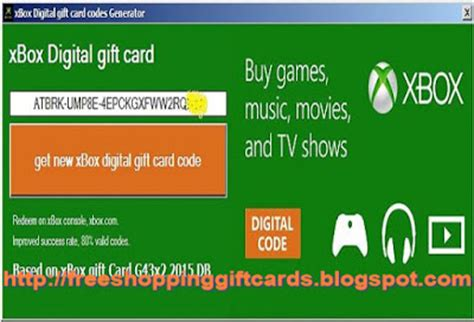 Free Microsoft Gift Card Code - shopping gift cards at rss 6