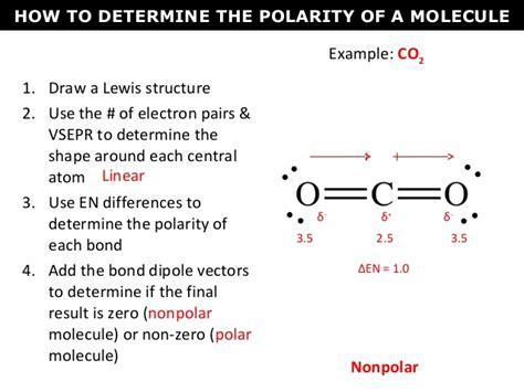 which electron dot diagram represents a polar molecule 09 polarity 2016