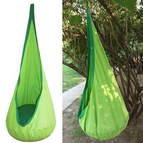 childrens garden swing hammock children kid inflatable swing hammock pod indoor outdoor