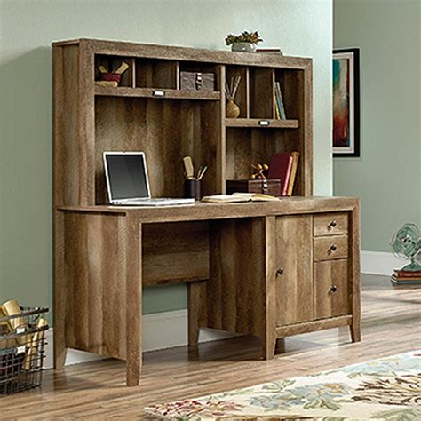 sauder desk with hutch sauder dakota pass craftsman oak desk with hutch 420410