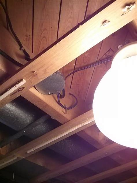 junction box in ceiling doityourself community forums