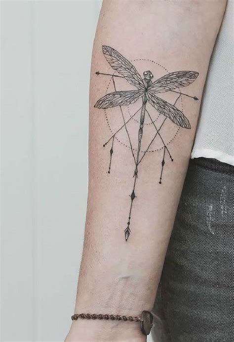 Minimalist Tattoo Dragonfly | 50 dragonfly tattoo ideas dragonflies tattoo and tatoos