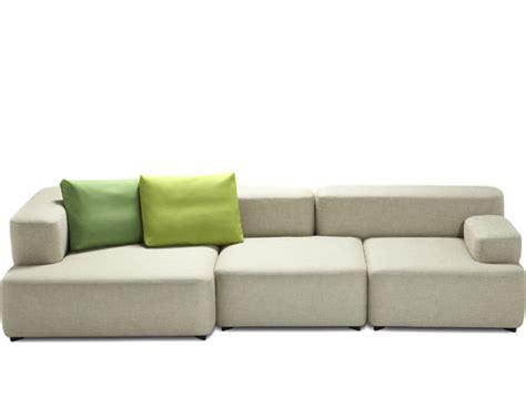 fritz hansen sofa lissoni alphabet 3 seat sofa hivemodern