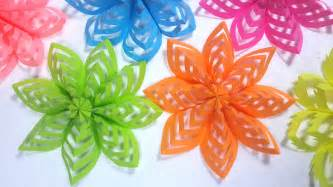 paper decorations how to make this colored paper floral decoration