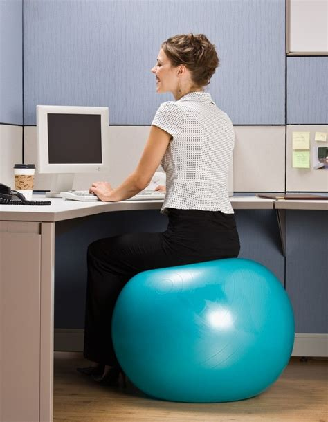 exercise ball for desk 17 best images about work office fitness on pinterest