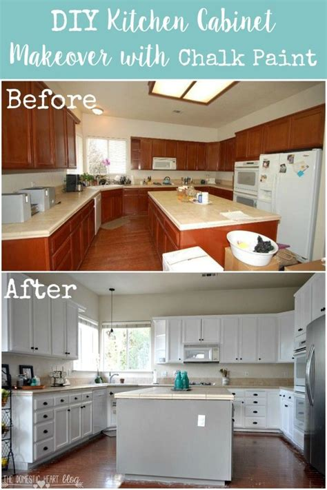 livelovediy the chalkboard paint kitchen cabinet makeover finally the reveal of our diy kitchen cabinet makeover