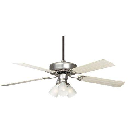 high tech ceiling fan radionic hi tech breazer 52 in satin nickel ceiling fan