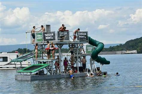 tarzan the boat tarzan boat water park in your back yard http www