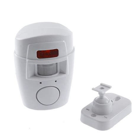 remote wireless infrared motion sensor alarm