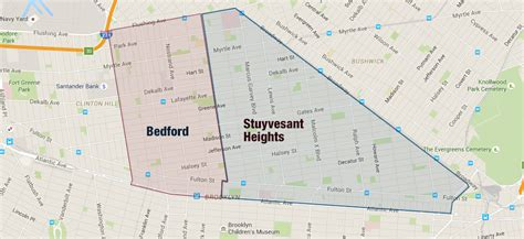 bed stuy map the neighborhood bedford stuyvesant