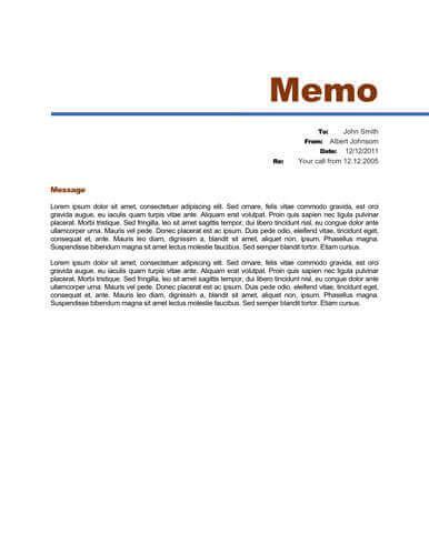 memo format bonus 48 memo templates
