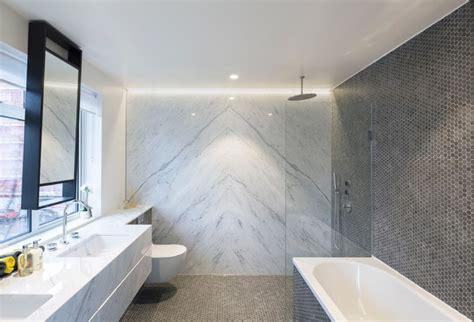 Statuario Marble Bathroom by Book Matched Statuario