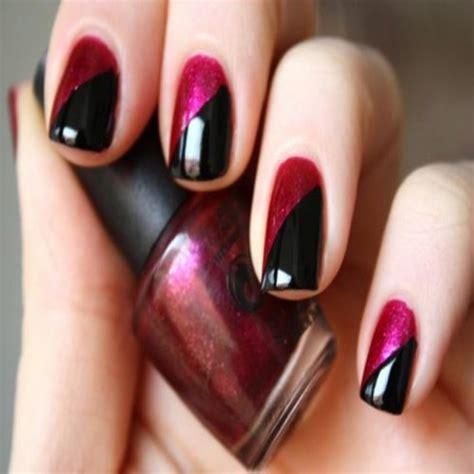 imagenes de uñas de acrilico azul marino nail art t 233 cnica u 241 as bicolor