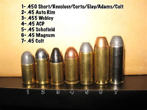 cartridges ammo guns bullet and 45 acp