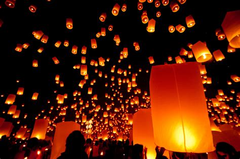 new year lanterns the best ways to spend new year s in thailand