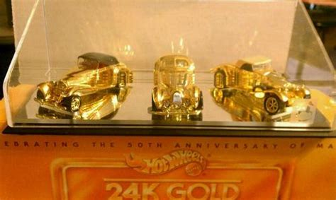 Hotwheels Talbot Lago Set 3pcs 24k gold classics model vehicle sets hobbydb