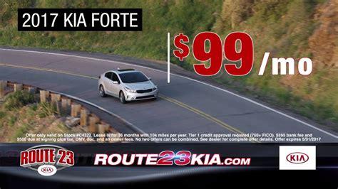 route 23 kia 2017 kia forte for just 99 per month